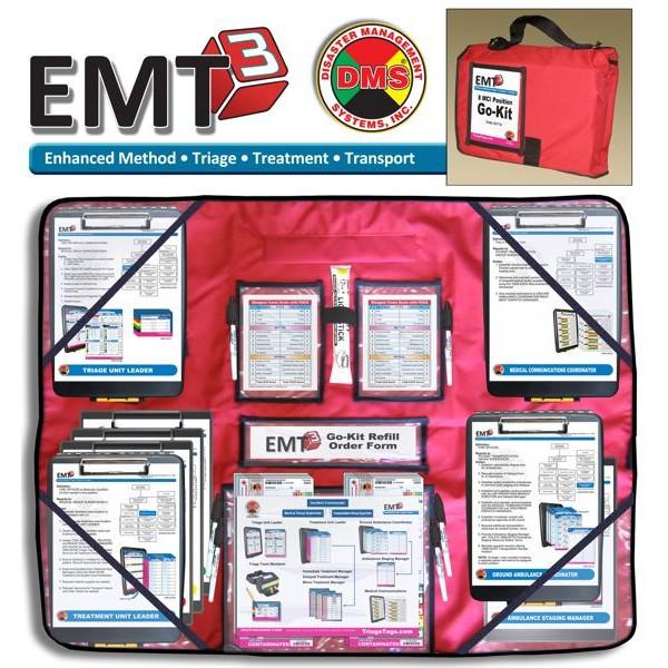 EMT3 8 Position Go-Kit Basic First Responders_