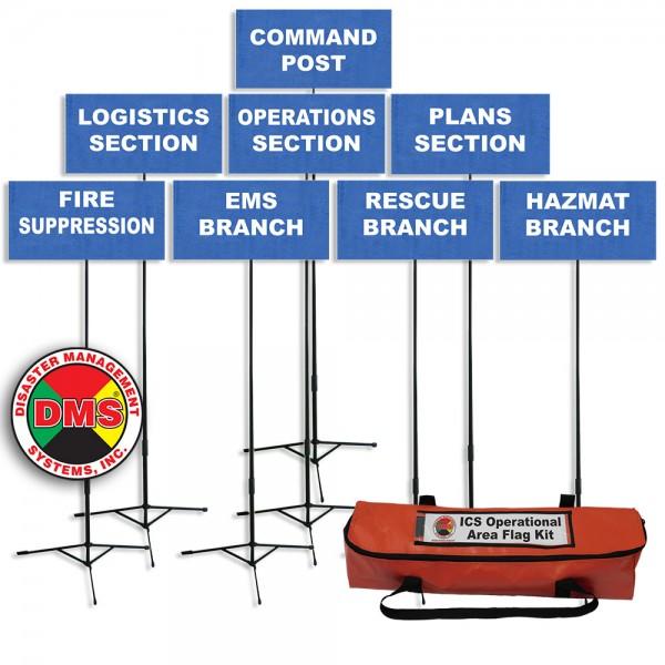 ICS Operational Area Flag Kit