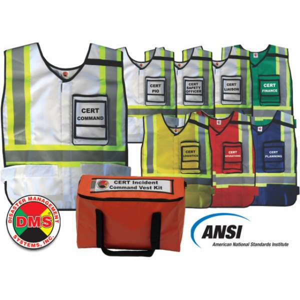 CERT Incident Command Vest Kit