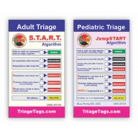 START/JumpSTART Triage Wallet Cards