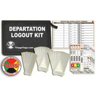 Hospital Evacuation Departation Kit, Pre-Barcoded System