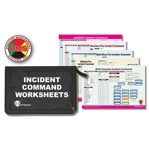 Multi-Hazard Incident Command Worksheet Kit