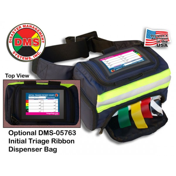 Rapid Response Kit for Larger MCIs - 13 Pos w/Rolling Duffel