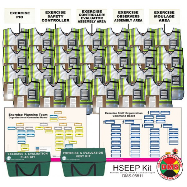 HSEEP Kit (Homeland Security Exercise & Evaluation Program)