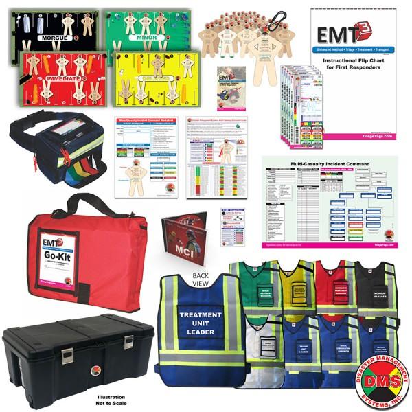 MCI Ready + Vests Training Kit