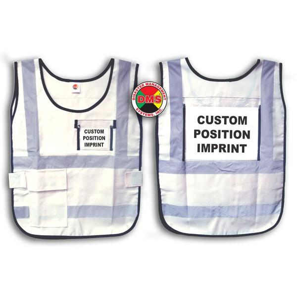 Vest, White Window Style