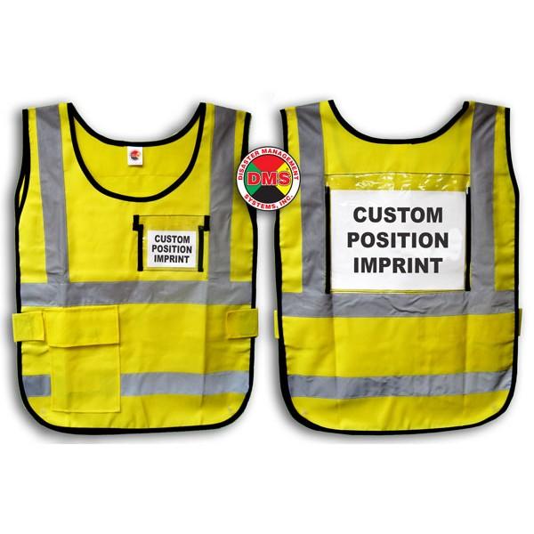 Vest, Yellow Window Style
