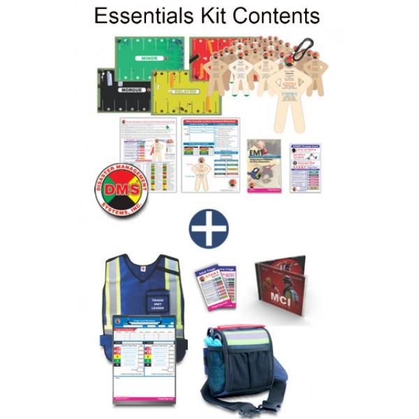 CERT MCI Tabletop Training Kit