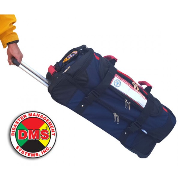 Rapid Response Kit for MCIs - 9 Pos w/Rolling Duffel