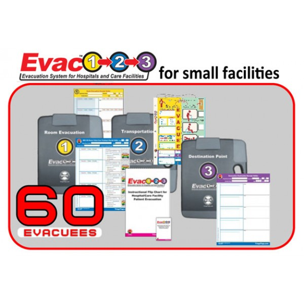 Evac123® Skilled Nursing Facility Evacuation 60 Package (SNF)