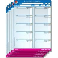 EMT3® Transportation Receipt Holder - Refill Pack