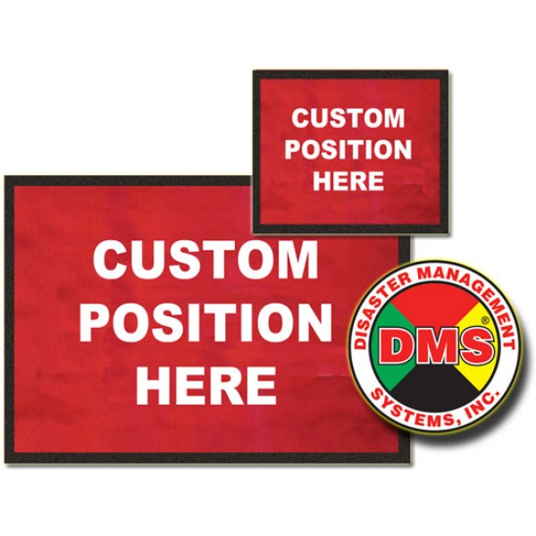 Dynamic Placard Set Only - Red