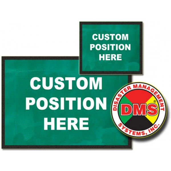 Dynamic Placard Set Only - Green
