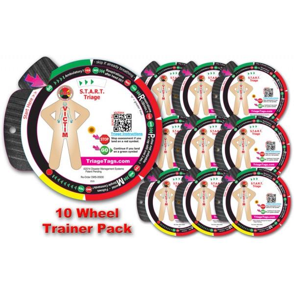 START Triage Trainer Wheel 10 Pk