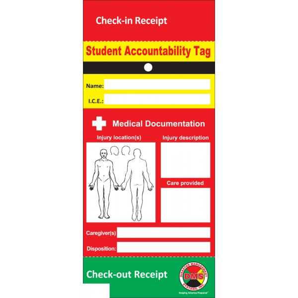 Student Accountability Tag for S.T.A.R.S.