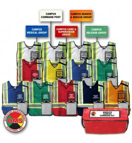 Campus Command Vest & Flag Kit