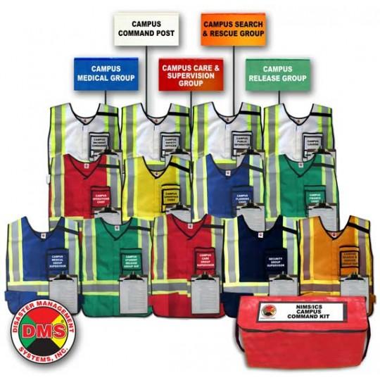Campus Command Vest & Flag Kit