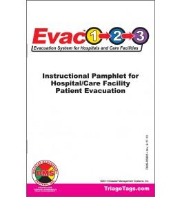 Evac123® Instructional Pamphlets - Pack of 25