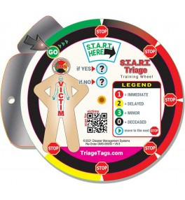 START Triage Training Wheel