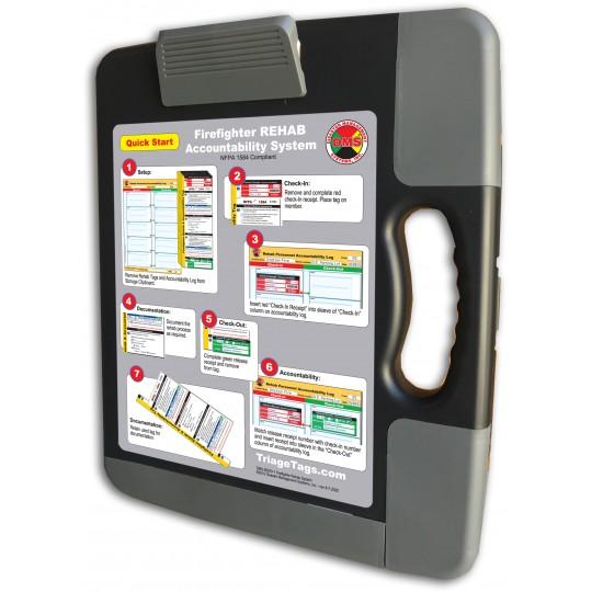 Firefighter REHAB Accountability System