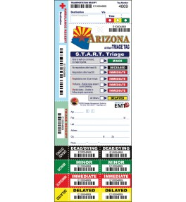 All Risk® Triage Tags, Arizona Version