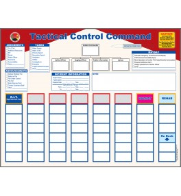 Tactical Control Magnetic Incident Command Board