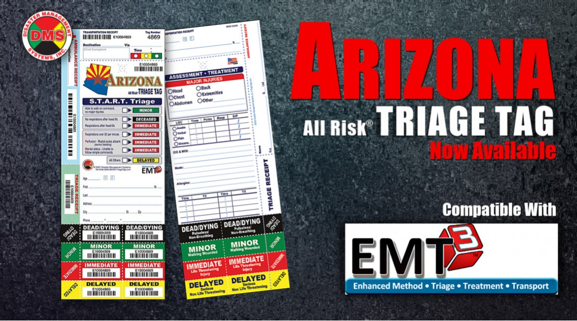 Arizona Triage Tag