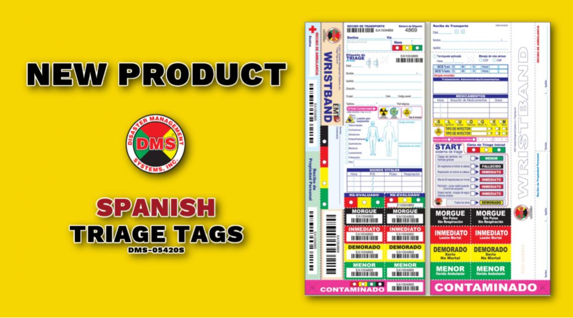Spanish Triage Tags