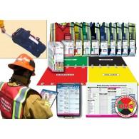 Rapid Response Kit for MCIs - 9 Pos w/Rolling Duffel