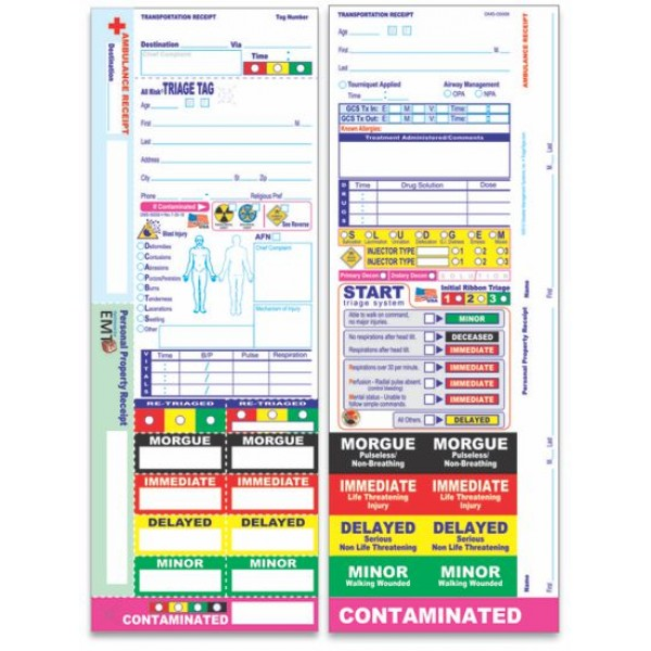 All Risk® Triage Tags
