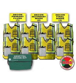 Hospital Decon Vest & Flag Kit