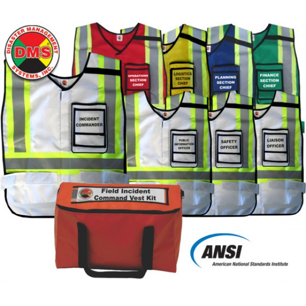 Field Incident Command Vest Kit