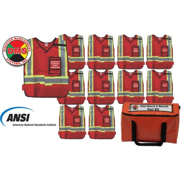 Urban Search & Rescue Vest Kit