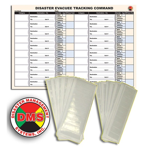Evacuee Tracking Refill Kit
