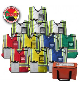 Care Facility Command Vest Kit - 11 Position
