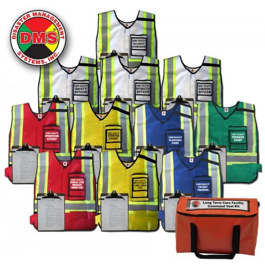 Care Facility Command Vest Kit - 11 Position