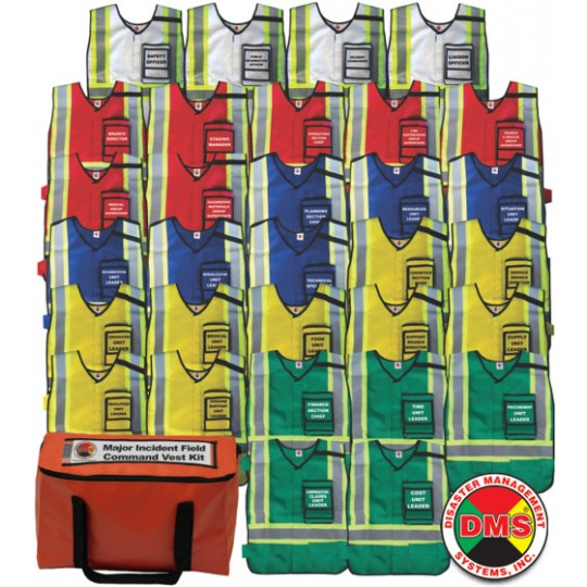 Major Incident Field Response Vest Kit