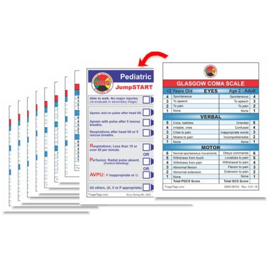 Glasgow Coma Scale / JumpSTART Pediatric Cards