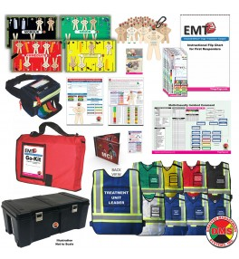 MCI Ready + Vests Triage Training Kit