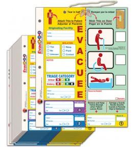 Evac123® Patient Evacuation Tag