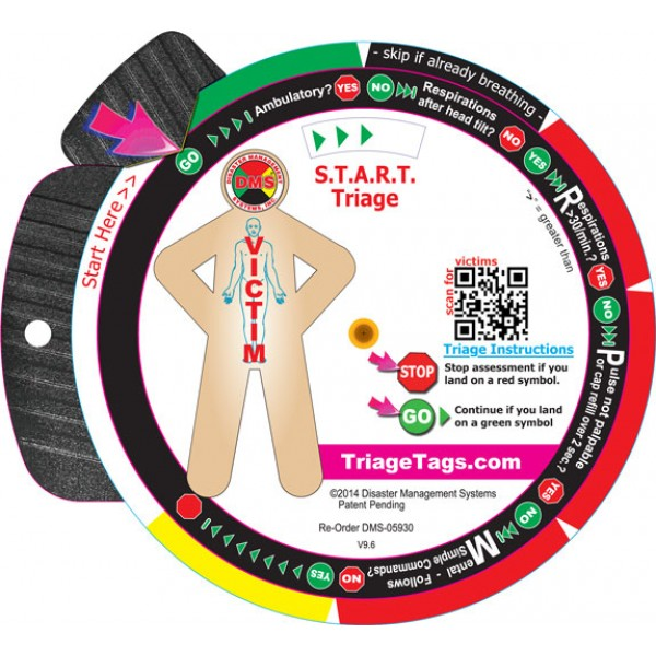 START Triage Trainer Wheel*