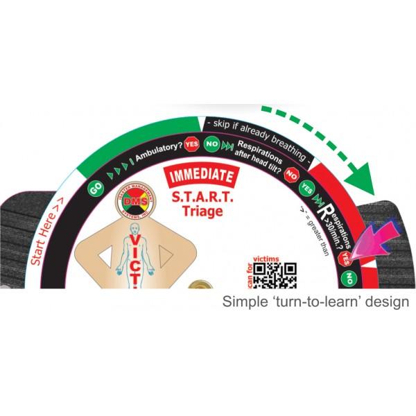 START Triage Trainer Wheel 10 Pk*