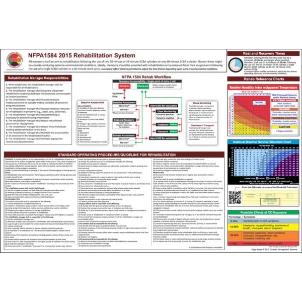 NFPA 1584 REHAB Accountability System, 2015 Edition