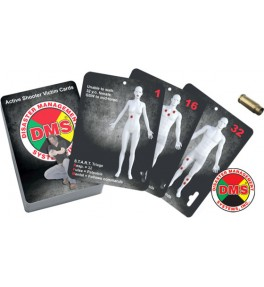 Active Shooter Victim Cards - Deck of 32