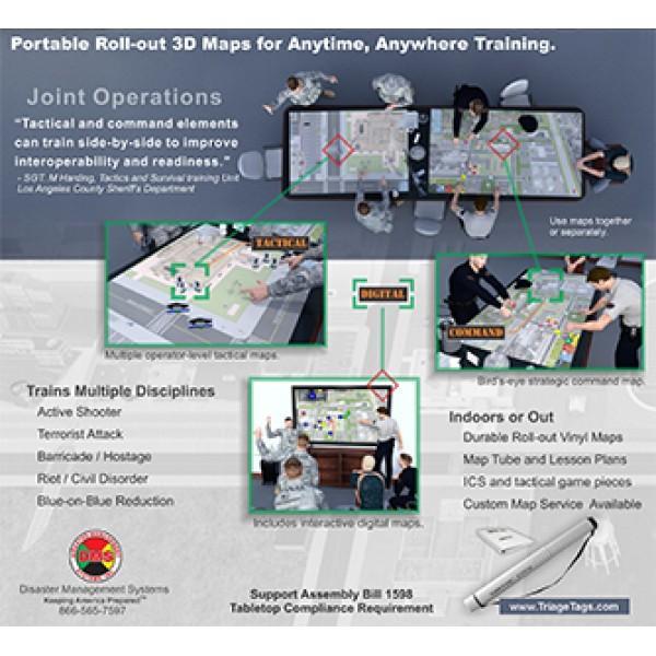 SimTac City™ Tabletop Simulator