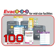 Evac123® Mid-Sized Skilled Nursing Facility Evacuation 100 Package (SNF)