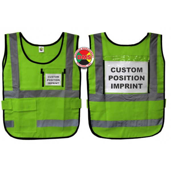 Window Vest - Lime Green