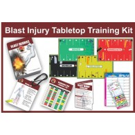 Enhanced Blast Injury Tabletop Training Kit