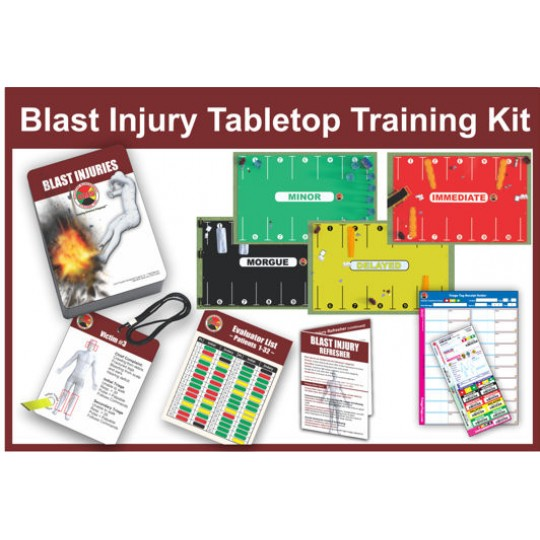 Enhanced Blast Injury Tabletop Training Kit