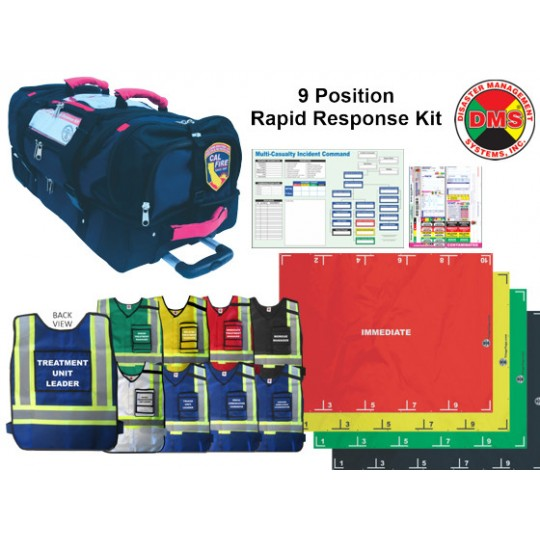 EMT3® 9 Position Rapid Response Kit